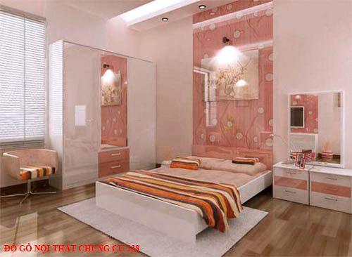 Đồ gỗ nội thất chung cư 138