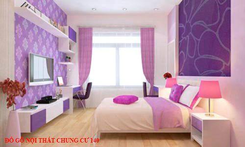 Đồ gỗ nội thất chung cư 140