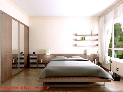 Đồ gỗ nội thất chung cư 142