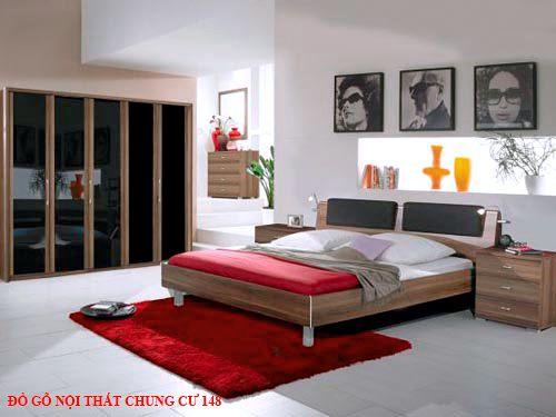 Đồ gỗ nội thất chung cư 148