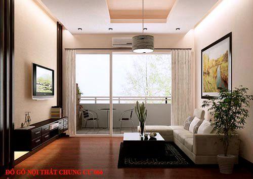 Đồ gỗ nội thất chung cư 66