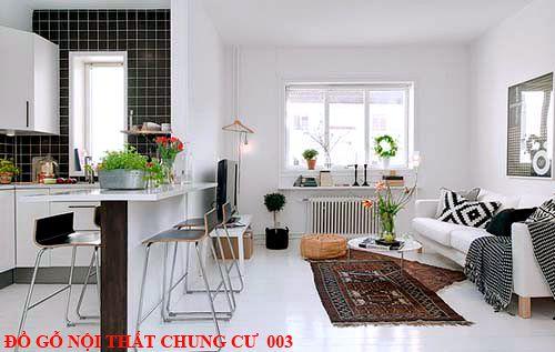 Đồ gỗ nội thất chung cư giá rẻ 003
