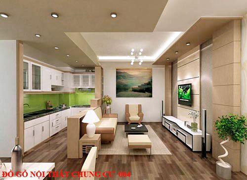Đồ gỗ nội thất chung cư giá rẻ 004