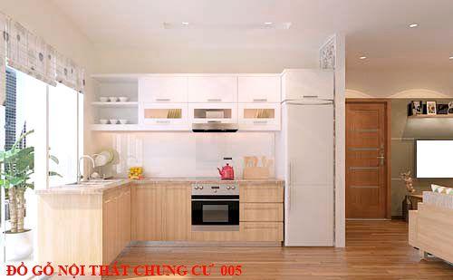 Đồ gỗ nội thất chung cư giá rẻ 005