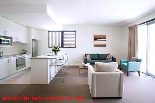 Đồ gỗ nội thất chung cư giá rẻ 006