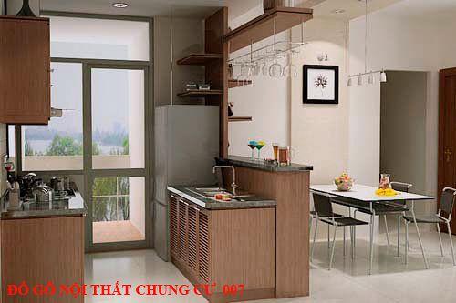 Đồ gỗ nội thất chung cư giá rẻ 007