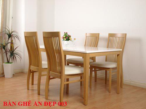 Bàn ghế ăn đẹp 003