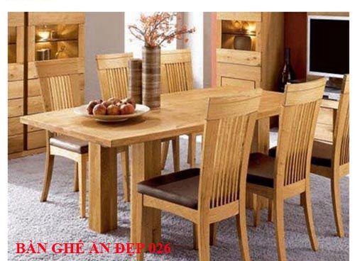 Bàn ghế ăn đẹp 026