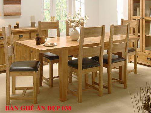 Bàn ghế ăn đẹp 038