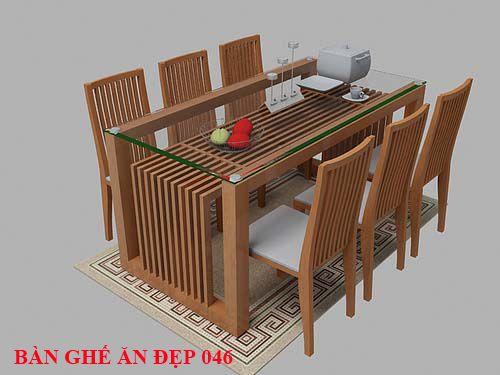 Bàn ghế ăn đẹp 046