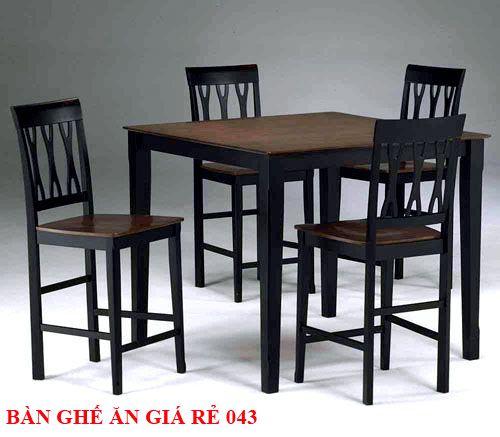Bàn ghế ăn giá rẻ 043