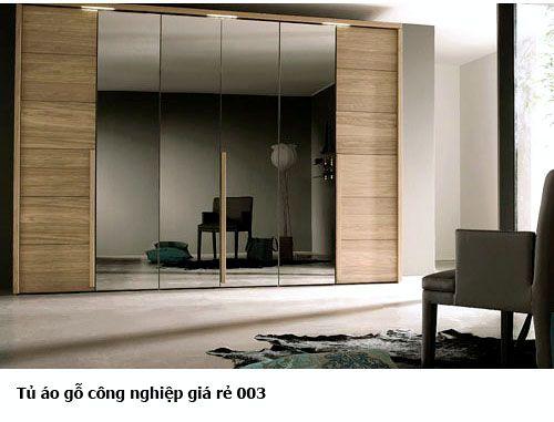 Tủ áo gỗ công nghiệp đẹp 003