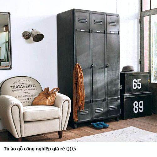 Tủ áo gỗ công nghiệp giá rẻ 005