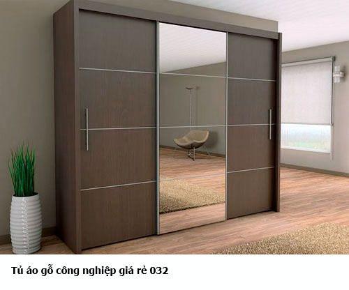 Tủ áo gỗ công nghiệp giá rẻ 032