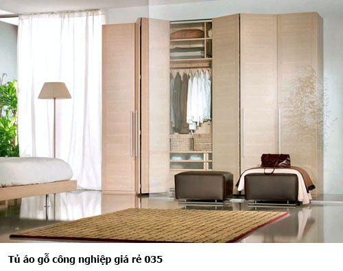 Tủ áo gỗ công nghiệp giá rẻ 035