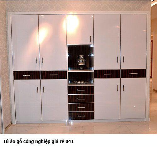 Tủ áo gỗ công nghiệp giá rẻ 041