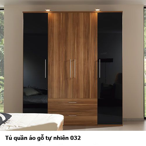 Tủ áo gỗ tự nhiên đẹp 032