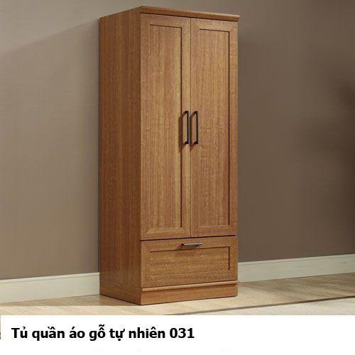 Tủ áo gỗ tự nhiên giá rẻ 031