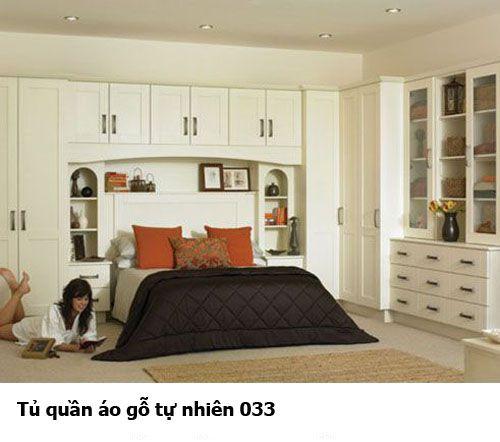 Tủ áo gỗ tự nhiên giá rẻ 033
