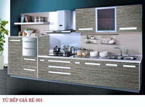 Tủ bếp giá rẻ 001