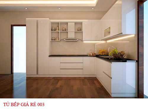 Tủ bếp giá rẻ 003