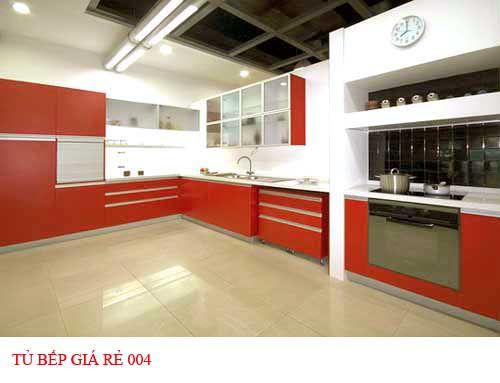 Tủ bếp giá rẻ 004