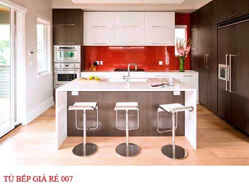 Tủ bếp giá rẻ 007
