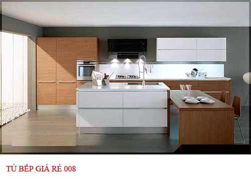 Tủ bếp giá rẻ 008