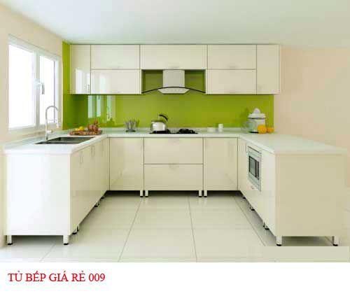 Tủ bếp giá rẻ 009