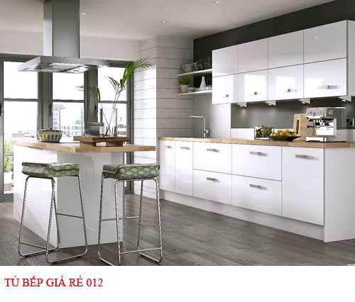 Tủ bếp giá rẻ 012