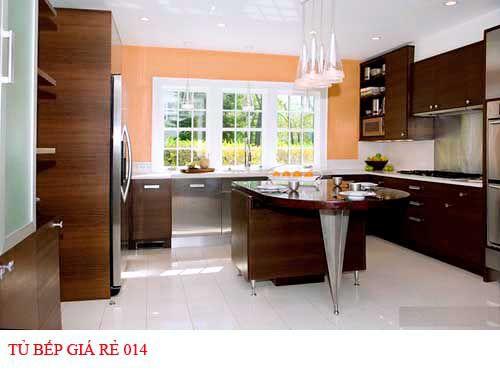Tủ bếp giá rẻ 014