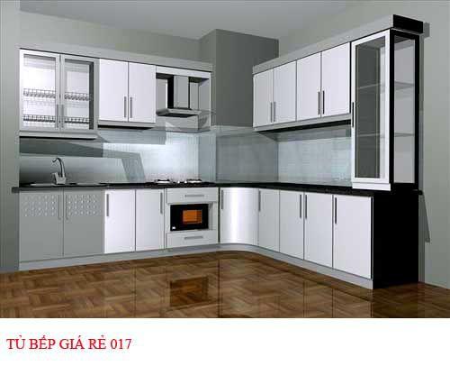 Tủ bếp giá rẻ 017