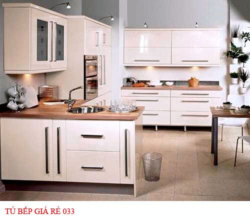Tủ bếp giá rẻ 033