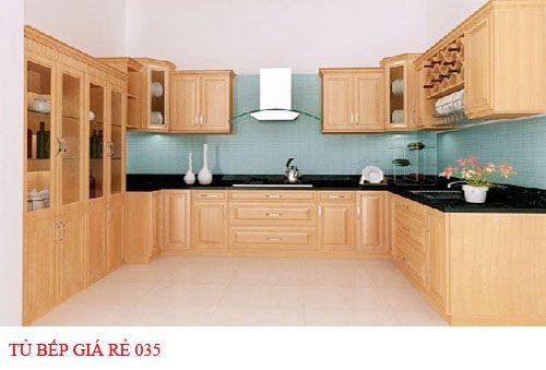 Tủ bếp giá rẻ 035