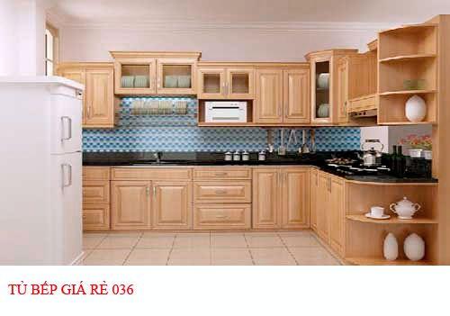Tủ bếp giá rẻ 036