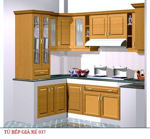 Tủ bếp giá rẻ 037