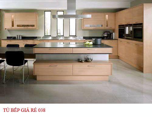Tủ bếp giá rẻ 038