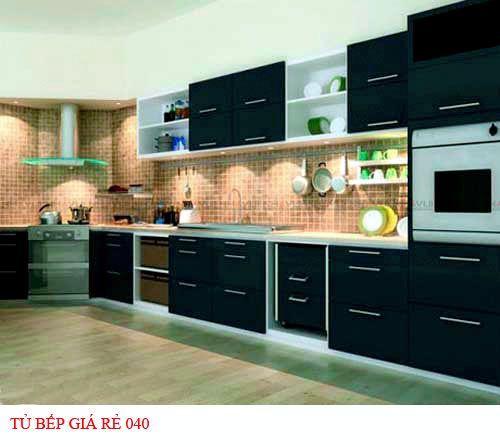 Tủ bếp giá rẻ 040