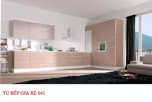 Tủ bếp giá rẻ 041