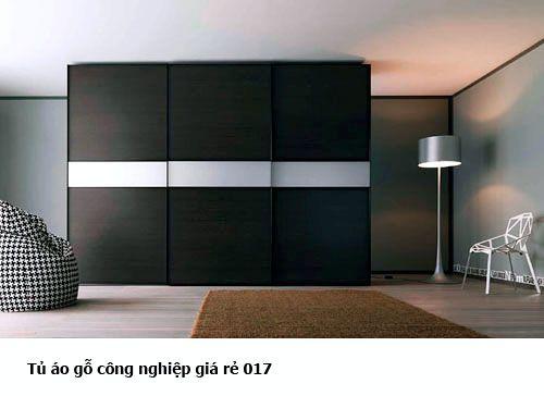Tủ quần áo gỗ công nghiệp 017