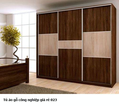 Tủ quần áo gỗ công nghiệp 023