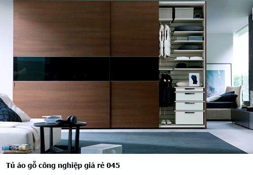 Tủ quần áo gỗ công nghiệp 045
