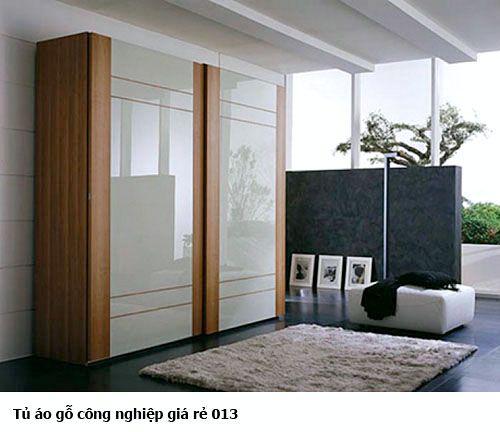 Tủ quần áo gỗ công nghiệp giá rẻ 013