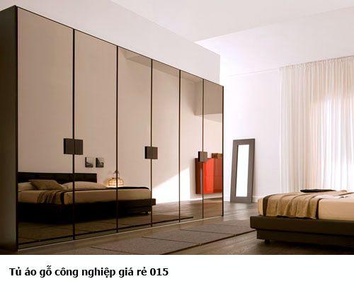 Tủ quần áo gỗ công nghiệp giá rẻ 015