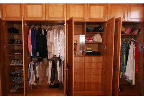 Tủ quần áo gỗ tự nhiên giá rẻ 019