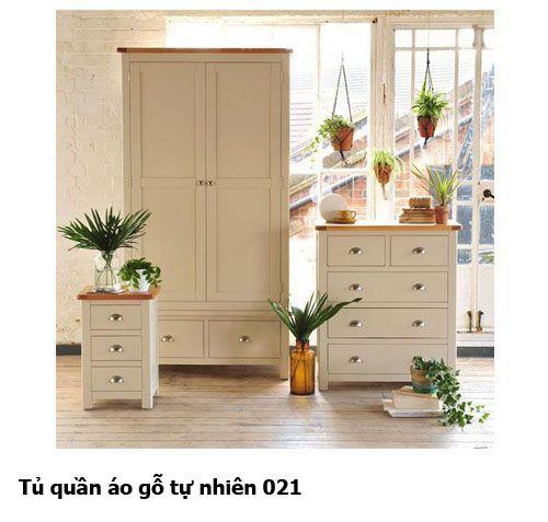 Tủ quần áo gỗ tự nhiên giá rẻ 021