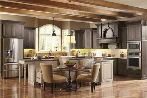 Kệ bếp gỗ tự nhiên 063