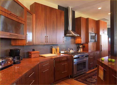 Kệ bếp gỗ tự nhiên 075