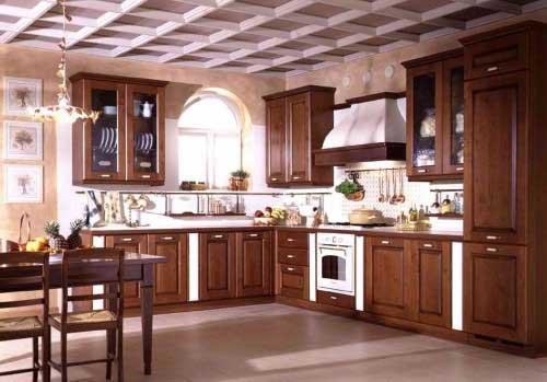 Kệ bếp gỗ tự nhiên 078