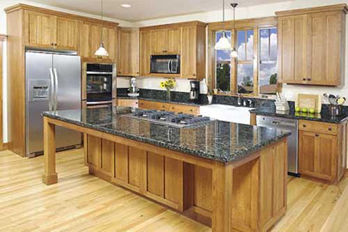 Kệ bếp gỗ tự nhiên 083